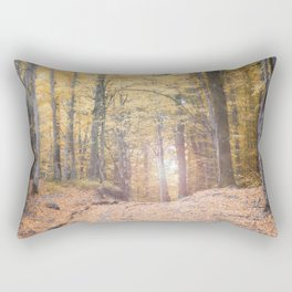 A Walk Through A Dream Forest Rectangular Pillow