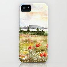 Poppies at the Lake Balaton iPhone (5, 5s) Slim Case