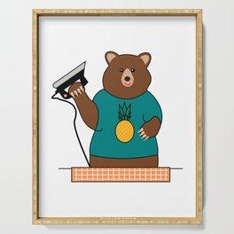 Bear Serving Tray