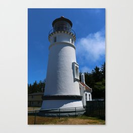 Lighthouse on Winchester Bay Canvas Print