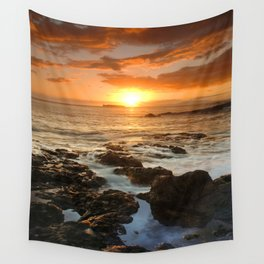 Maui Sunset Wall Tapestry