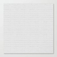 polka Canvas Prints featuring POLKA by Se´scoso