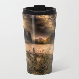 Loch Ard at Sunset Travel Mug