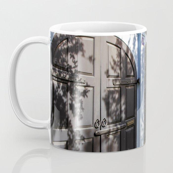 Charleston SC No. 4  Rainbow Row Coffee Mug