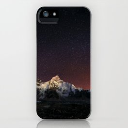 Everest Nightscape iPhone Case