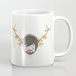 The Man With The Antlers Coffee Mug
