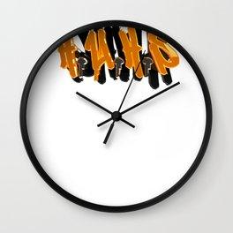 HUHS Wall Clock