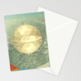 Space Dome Stationery Cards