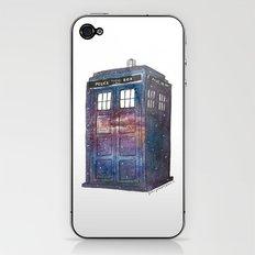 Doctor Who Galaxy Tardis iPhone & iPod Skin