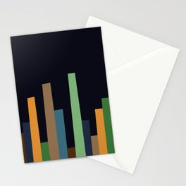 City Perspective-Navy Midnight Stationery Cards