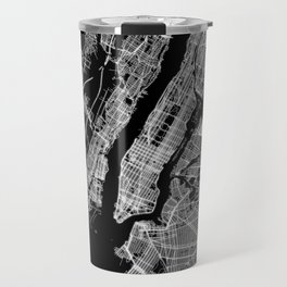 New York map Travel Mug