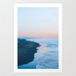 Ocean Beach Sunset San Francisco Art Print