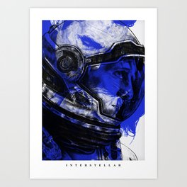 Interstellar - Movie Inspired Art Art Print