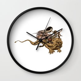 The Great Quest Wall Clock
