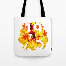Flower 1973 Tote Bag