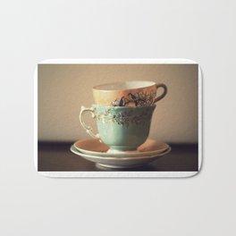Tea Set Bath Mat