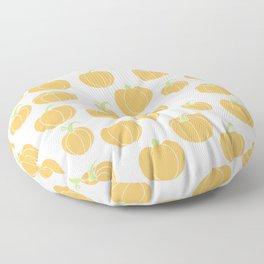 Pumpkins Galore - A Pumpkin Patch Pattern  Floor Pillow