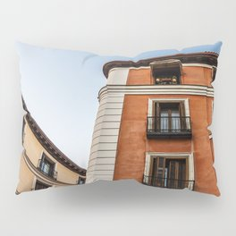Madrid Old Buildings Pillow Sham