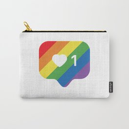Instagram LGBTQ Heart Notification Carry-All Pouch