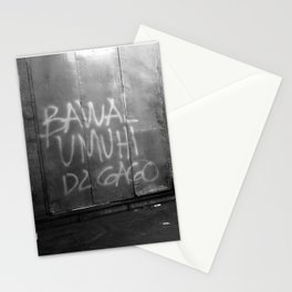 Bawal Umihi Dito (You Can't Pee In Here) Stationery Cards