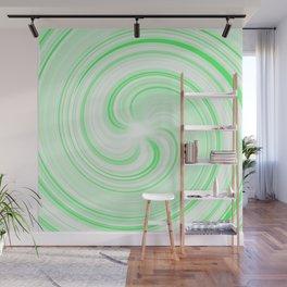 Lime Sundae Swirl Wall Mural