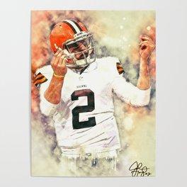 Johnny Manziel Poster