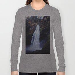 Secret Oregon Waterfall Long Sleeve T-shirt