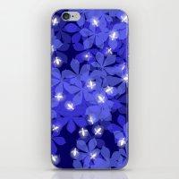 fireflies iPhone & iPod Skins featuring Fireflies by Heleen van Buul
