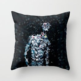 Geometric Valkyrie Walküre Zen Color Abstract Shapes  Throw Pillow