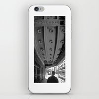theatre iPhone & iPod Skins featuring LA THEATRE by KING