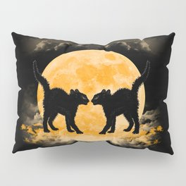 Black Cats Paradise Pillow Sham