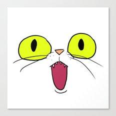 Cat Face 1 Canvas Print