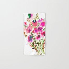 Bouquet Pink Hand & Bath Towel