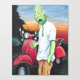 Canvey Island Monster Canvas Print