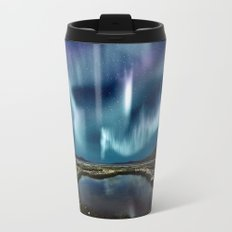 Northern Lights Metal Travel Mug