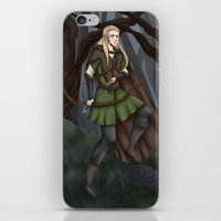 legolas iPhone & iPod Skins featuring Legolas of Mirkwood by Kimberlyn Curtis Artistry