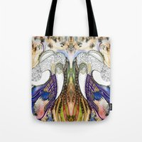 the flash Tote Bags featuring Flash by CrismanArt