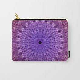 Red,fuchsia and violet mandala Carry-All Pouch
