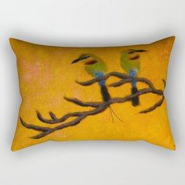 rainbow bee eaters Rectangular Pillow
