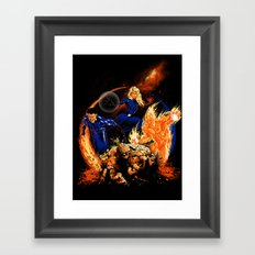 The Powers of Four Framed Art Print