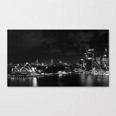 Sidney by night Canvas Print