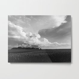 Storm Moving In Metal Print