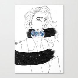 Starseed series : TREE Canvas Print