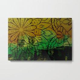 Flower avante Metal Print