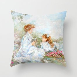 Mothers Memories Throw Pillow