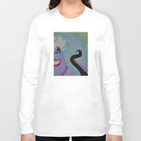 ursula Long Sleeve T-shirts featuring Ursula by Sierra Christy Art