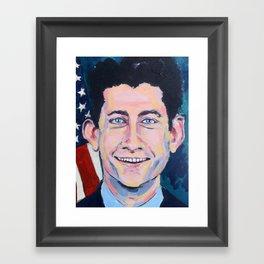 Taliban Republican: Paul Ryan Framed Art Print