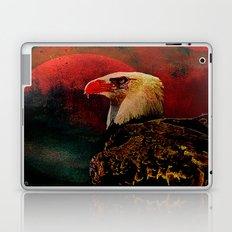 Eagle at night Laptop & iPad Skin