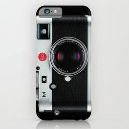 leica camera iPhone Case