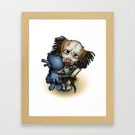 Yautja Baby Framed Art Print